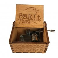 HD233 - Beauty and The Beast Music Box