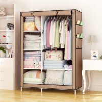 HD304 - Simple Fashion Non-woven Cloth Dustproof Storage Closet