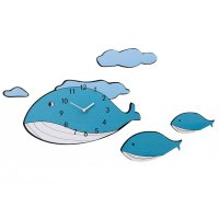 HD311 - DIY Fish 3D Wall Clock