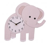 HD312 - DIY Elephant  3D Wall Clock