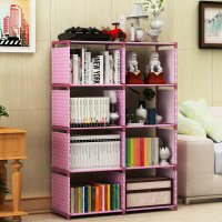 HD333 - High Quality 8 Cubes Book Shelf
