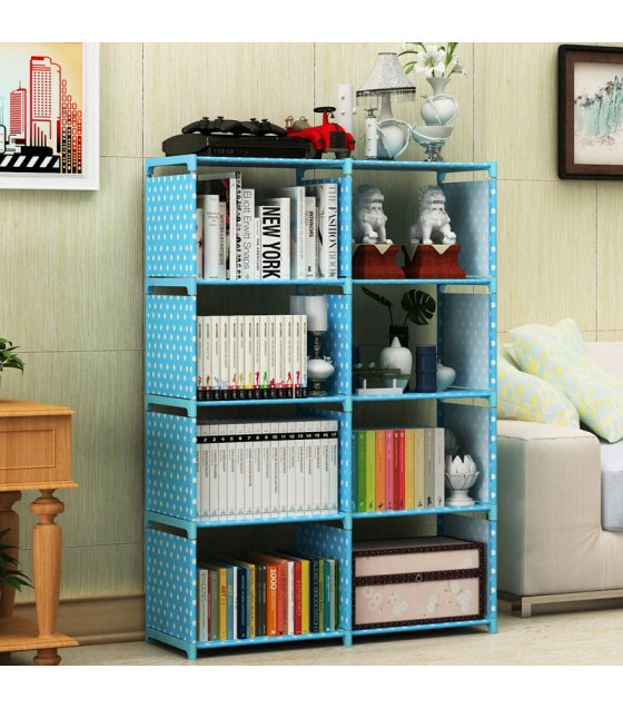 HD334 - High Quality 8 Cubes Book Shelf