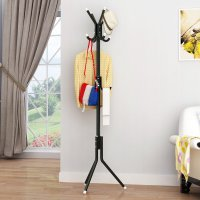 HD335 - Bedroom 12 Hooks European Clothes Towel Coat Metal Hanger Rack