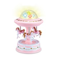 HD347 - Carousel music box starry sky lamp