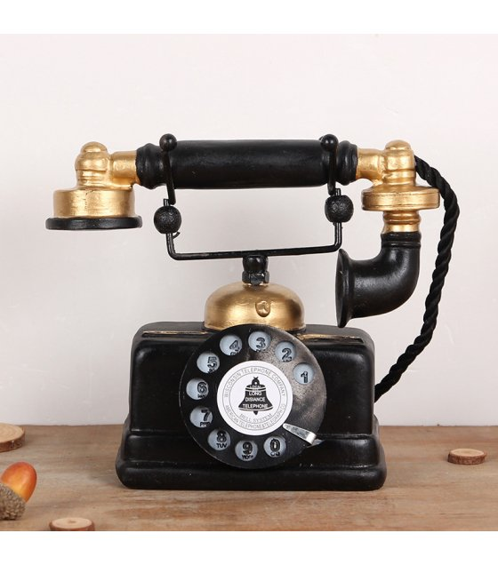 HD370 - Vintage Rotary Telephone Ornament