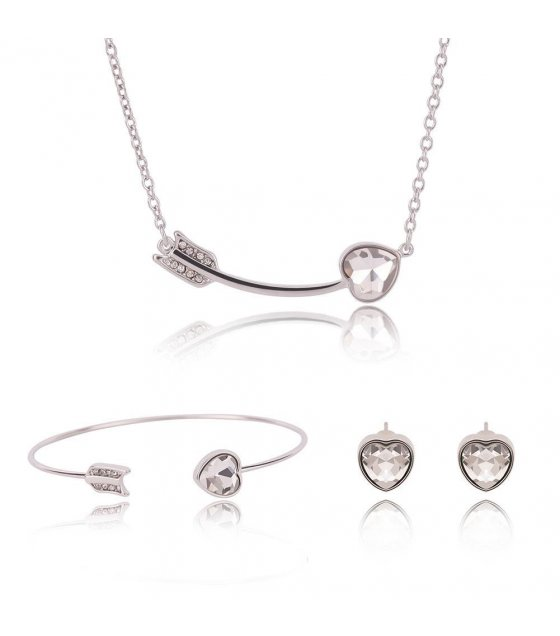 SET184 - Heart and Arrow Simple Jewelry Set