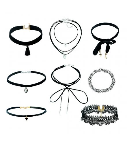 SET291 - Gothic Necklace Set