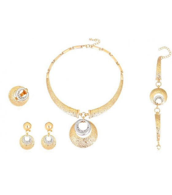 SET299 - Gold Necklace Set