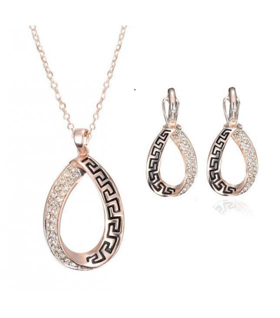 SET303 - Rose Gold Necklace Set