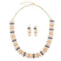 SET382 - High-grade imitation pearl jewelry set