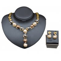 SET415 - 18K pearl banquet Jewellery Set