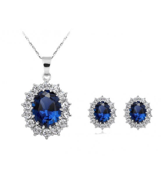 SET435 - Fashion luxury atmosphere ladies necklace
