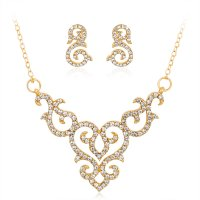 SET448 - Retro hollow Necklace Set