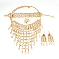 SET481 - Fashion Gold Plated Wedding Set