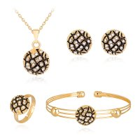 SET551 - Exquisite tortoise Jewellery Set