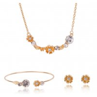 SET556 - Three-piece Alloy Jewellery Set