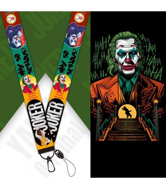 KT001 - Joker mobile phone lanyard keychain