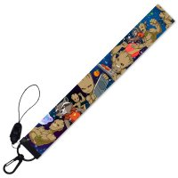KT007 - Groot Mobile Lanyard Ribbon Keychain