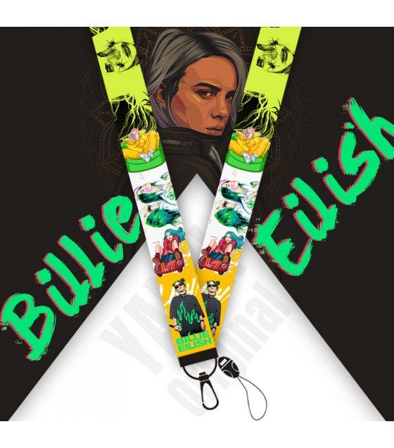 KT009 - Billie Eilish Mobile Phone Lanyard