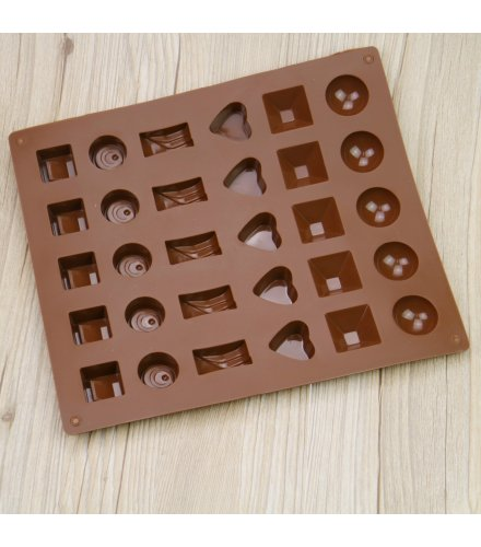 KW018 - Silicone chocolate mold