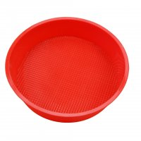 KW020 - Silicone 24 cm single disc round cake mold