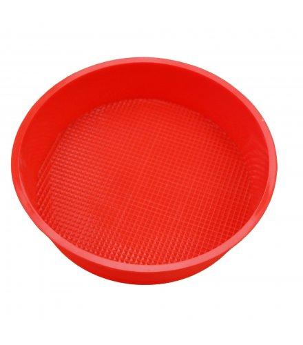 KW020 - Silicone 24 cm single disc round cake mold