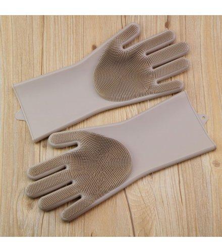KW021 - Silicone magic dish-washing gloves