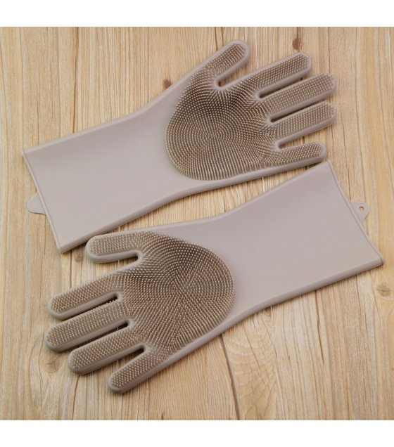 KW021 - Silicone magic dish-washing gloves