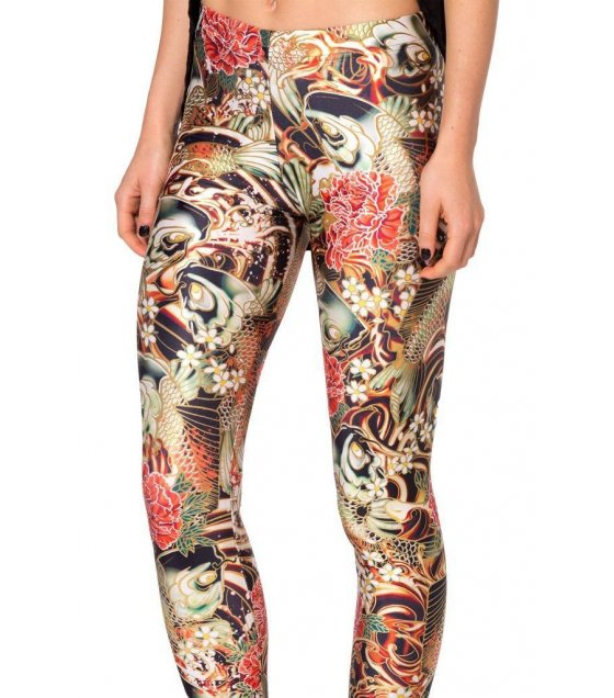 LG124 - Multicolored Floral Leggings