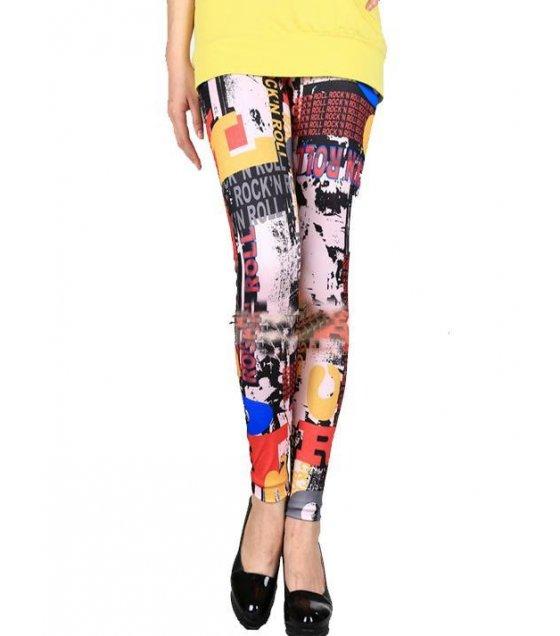 LG130 - Luxury Multicolored Leggings