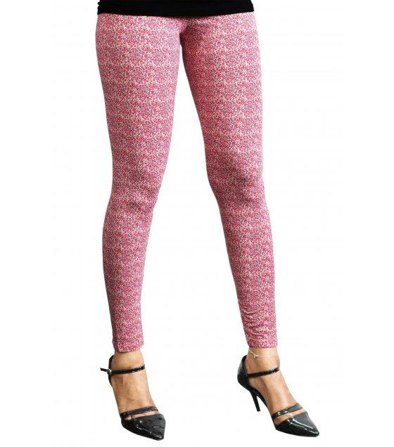 LG65 - Pink Dotted Leggings