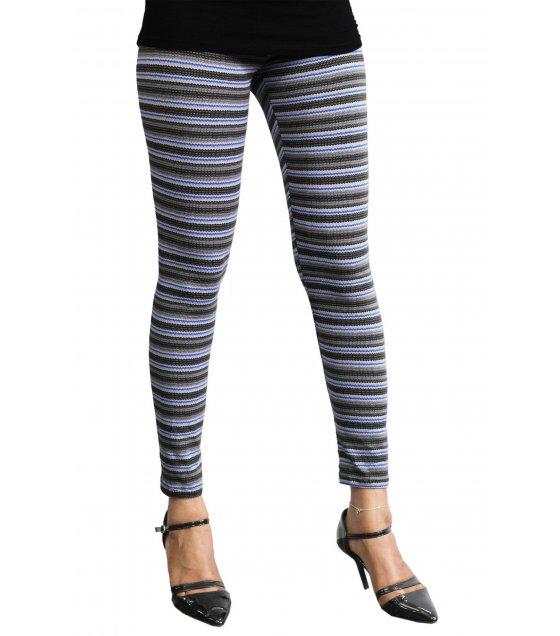 LG70 - Mixed Stripe Leggings