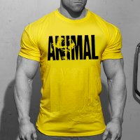 MR047 -Animal yellow T shirt