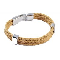 MJ036 - Multilayer braided leather bracelet