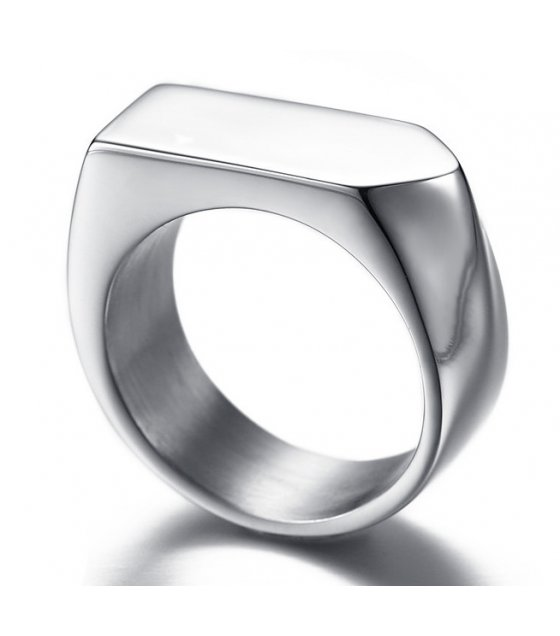 MJ046 - Stainless Steel Tide Brand Arrow Ring