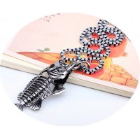 MJ066 - Fish bone pendant jewelry