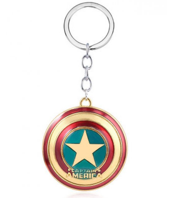 MJ125 - Captain America Shield Keychain