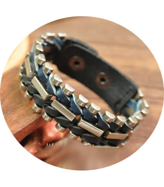 MJ128 - Retro Casual Hand Woven Men's Bracelet