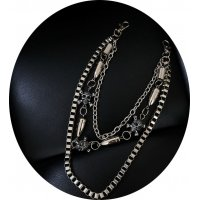 MJ133 - Punk tide Metal Waist Chain