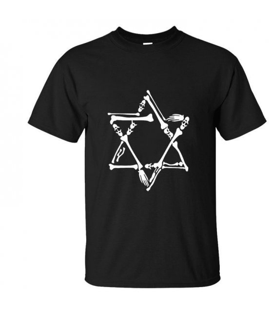 MC055 - Star Black Tshirt