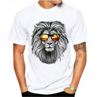 MC116 - Lion king Hawaii Beach Tshirt