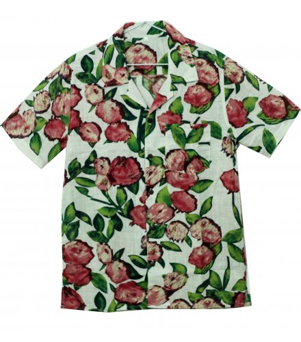 TJ008 - Casual Floral Men's Shirt