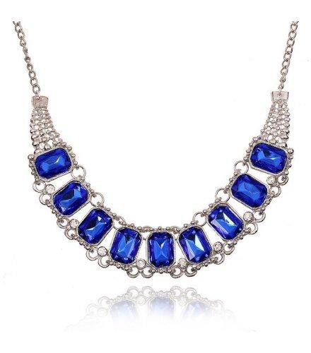 N1050 - Blue Gem Necklace
