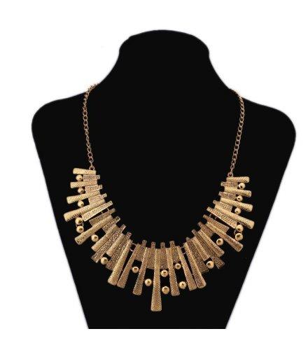 N1077 - rregular geometric necklace