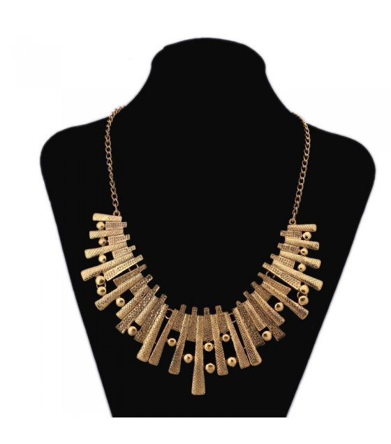 N1077 - rregular geometric necklace