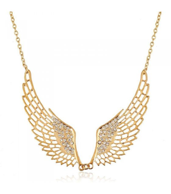 N1086 - Angel short paragraph wild Necklace