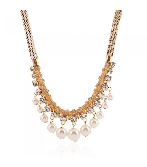 N1179 - Short Para Pearl Necklace