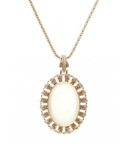 N1200 - White Opal Necklace