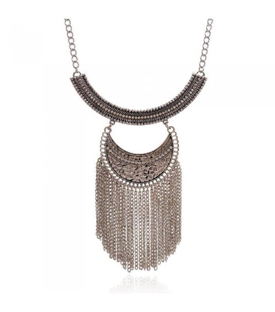 N1263 - Luxury Silver Chain Necklace
