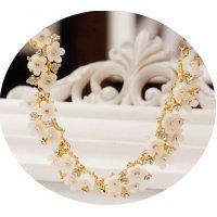 N1308 - Elegant Floral Necklace